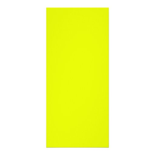 Lemon Lime Custom Rack Card