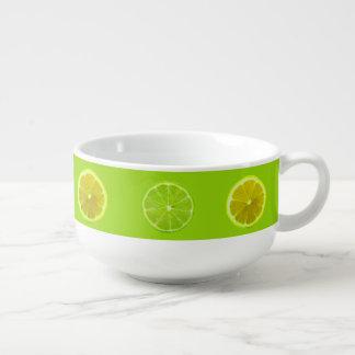 Lemon & Lime Soup Mug