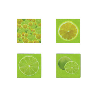 Lemon & Lime Stone Magnet