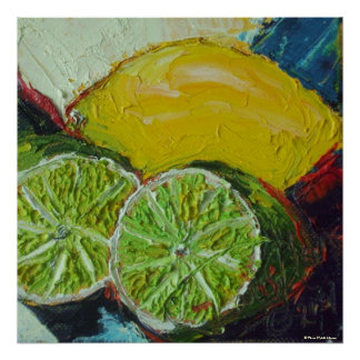 Lemon Limes Fine Art Poster