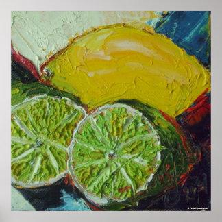 Lemon Limes Fine Art Poster
