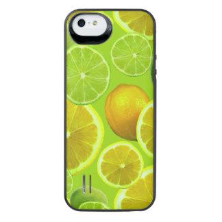 Lemon & Limes iPhone SE/5/5s Battery Case