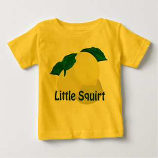 Lemon Little Squirt Toddler Yellow T-shirt