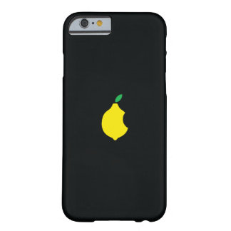 Lemon logo Custom iPhone 6 case