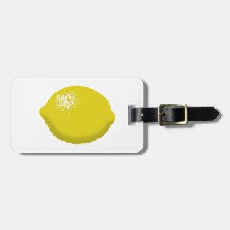 Lemon: Luggage Tag