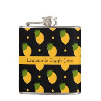 Lemon Lush Hip Flask