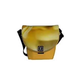 Lemon Lush Rose - Small Bag Courier Bag