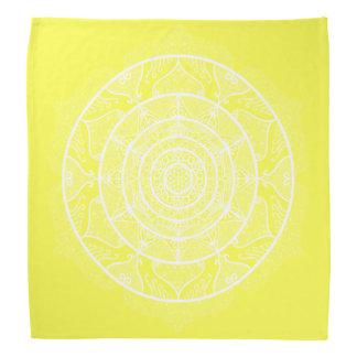 Lemon Mandala Bandana