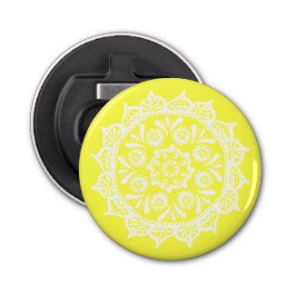 Lemon Mandala Bottle Opener