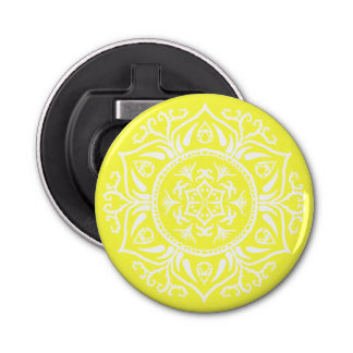 Lemon Mandala Bottle Opener