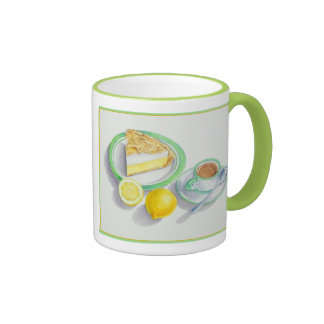 Lemon Meringue Pie with Espresso Mugs