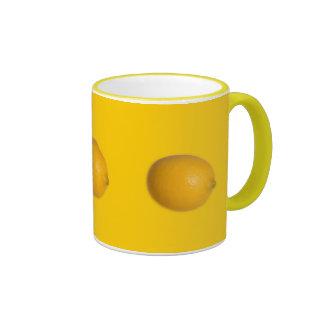 Lemon Ringer Coffee Mug