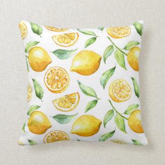 Lemon Passion Design Pillow
