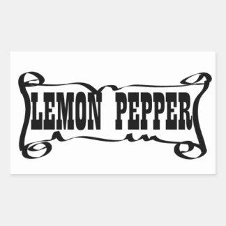 LEMON PEPPER 'SPICE JAR' STICKER