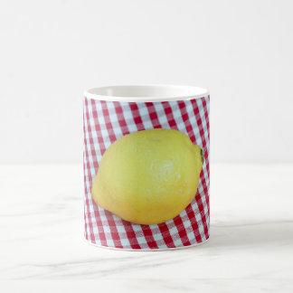Lemon Picnic Coffee Mug