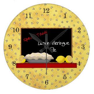 Lemon Pie Diner Wall Clock