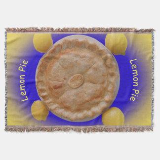 Lemon Pie Throw Blanket