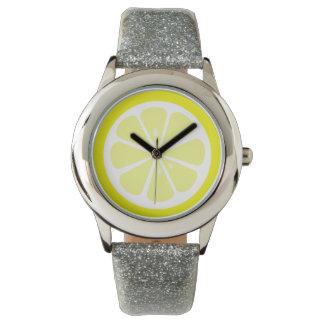 Lemon Slice Citrus Watch
