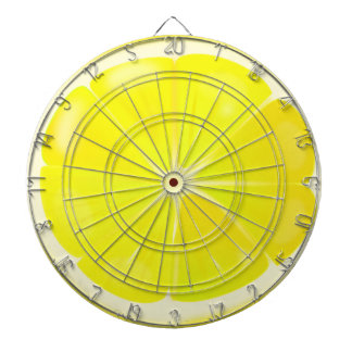 Lemon Slice Dartboard