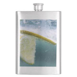 Lemon Slice Hip Flask