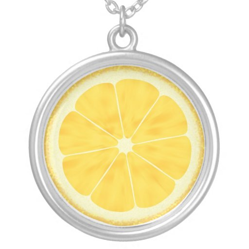 Lemon Slice Custom Necklace