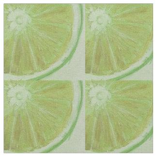 Lemon Slice Printed Fabric