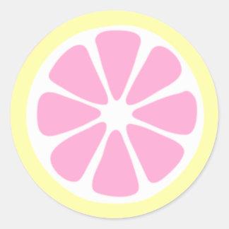 Lemon Slice Sticker
