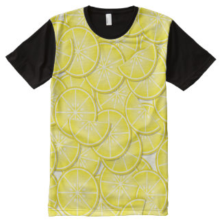 Lemon Slices All-Over Print T-Shirt