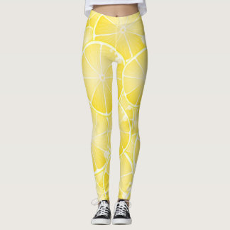Lemon Slices Leggings