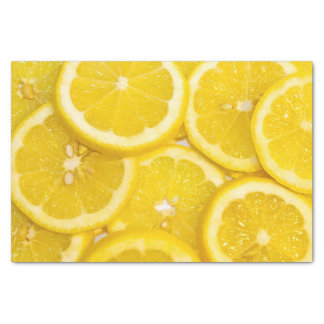 Lemon Slices Tissue Paper