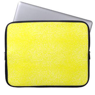 Lemon Speckled Sangria Laptop Sleeve
