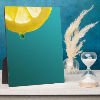 Lemon Squeeze Plaque