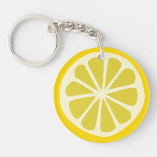 Lemon Squeezy Key Ring