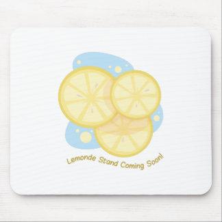 Lemon Stand Mouse Pad
