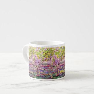 lemon tree art 6 oz ceramic espresso cup