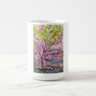 lemon tree basic white mug