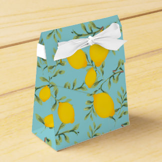 Lemon Tree Party Favor Box
