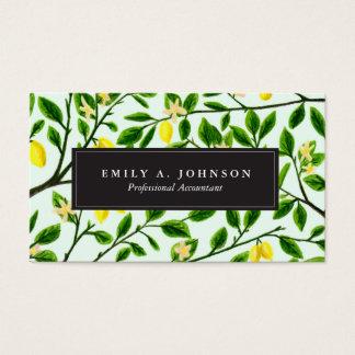 Lemon Tree Print Business Cards