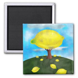 Lemon Tree Refrigerator Magnet