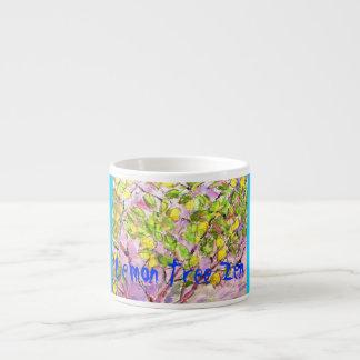 Lemon Tree Zen Espresso Mug