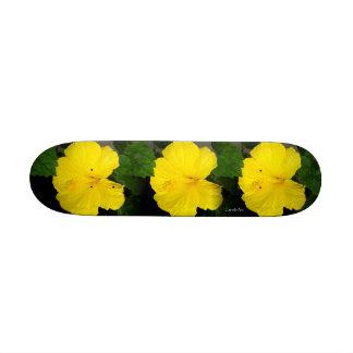 """Lemon Tropics"" Skateboard"