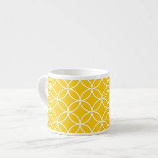 Lemon Yellow Espresso Mug