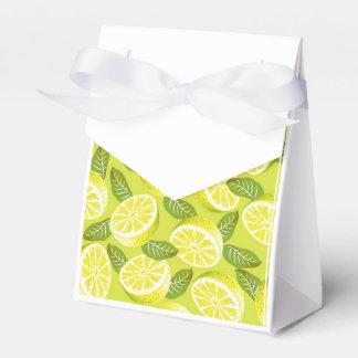 Lemon Yellow Party Favor Box Wedding Favour Boxes