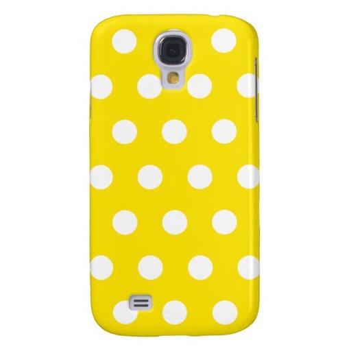 Lemon Yellow Polka Dot HTC Vivid HTC Vivid / Raider 4G Cover