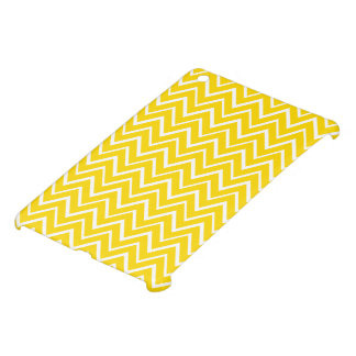 Lemon yellow zigzag chevron pattern trendy iPad mini case