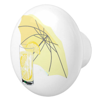 Lemonade Beach House Umbrella Door Knob