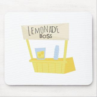 Lemonade Boss Mouse Pad