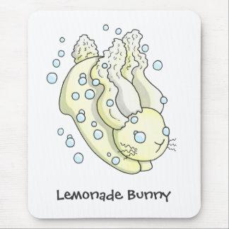 Lemonade Bunny Mouse Pad