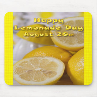 Lemonade Day Mouse Pad August 20