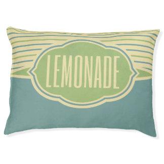 """Lemonade"" dog beds"